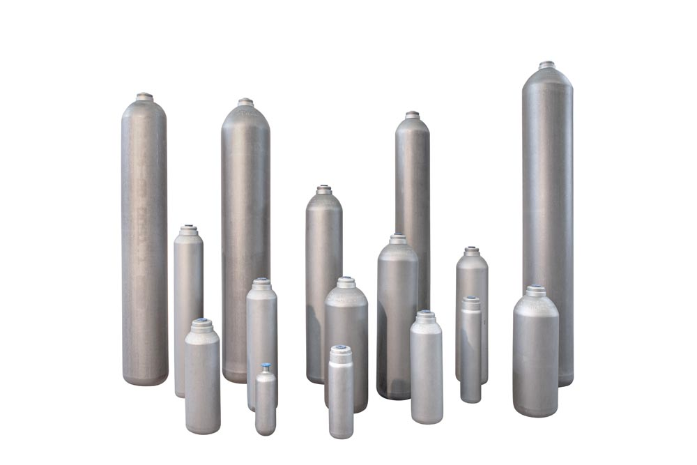 Steel cylinders and accessories for industrial and non-industrial
